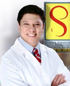 Philippine plastic surgery doctor Edwin Magallona